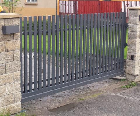 Brama wjazdowa przesuwna Limanowa