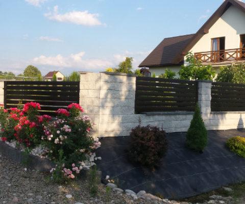 Ogrodzenie palisadowe Chełmiec