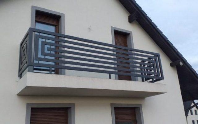 Balustrada panelowa Nowy Sącz