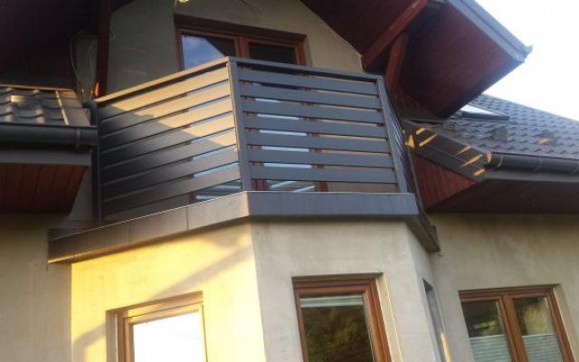 Balustrada panelowa Rytro